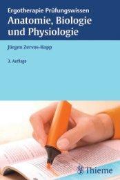 Anatomie, Biologie und Physiologie - Die Onleihe