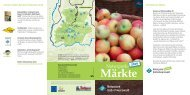 Märkte - Naturpark Südschwarzwald