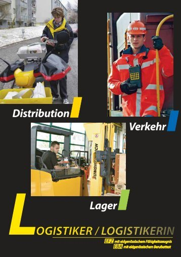 Berufsfachschulen für Logistiker / Logistikerinnen - Siegfried