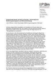 Zielgerichtete Gewalt und Amok an Schulen ... - Schulpsychologie