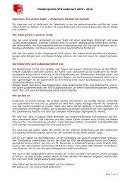 Wahlprogramm SPD Andernach 2009 – 2014 Anpacken ... - sozi.info