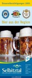 Brauereibesichtigungen 2005 - Touristikgemeinschaft Ferienregion ...