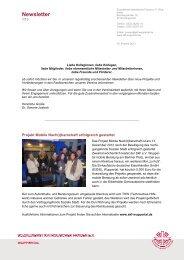 Newsletter 01/2013 - SKF · Sozialdienst Katholischer Frauen ...