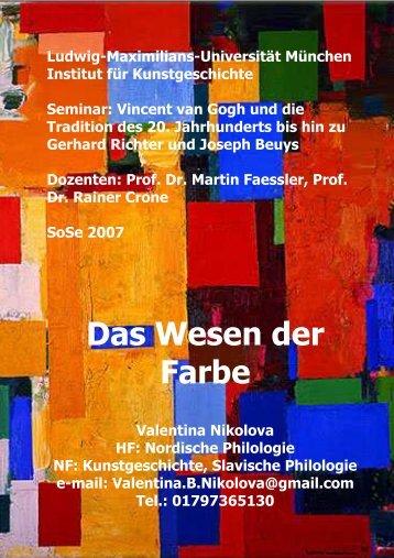 Vortrag_Nikolova - Ludwig-Maximilians-Universität München