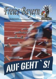 FB_2013-02 gesamt - Freies Bayern - Bayernpartei