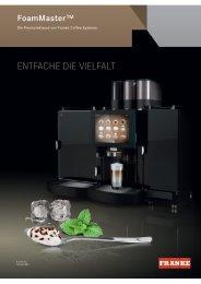 Prospekt Download - FoamMaster - Franke