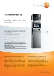 Handstroboskop - Testo AG