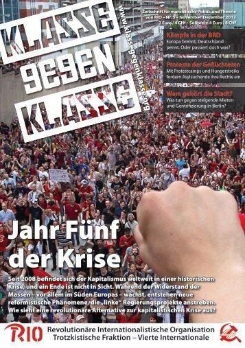 PDF herunterladen - Klasse Gegen Klasse