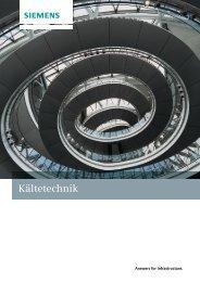 Kältetechnik - Siemens Building Technologies