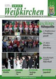 Unser Weißkirchen - Ausgabe April 2006 - Weißkirchen in Steiermark
