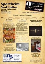 Sportheim Sankt Julian - Larry & Isas All American Diner