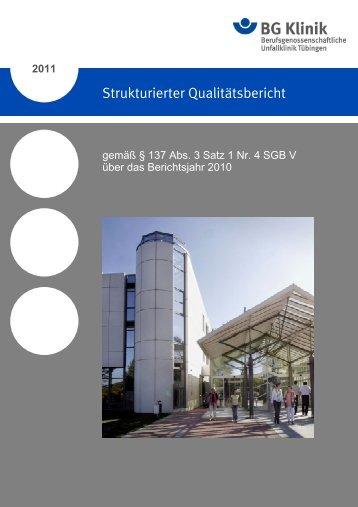 Qualitätsbericht-BG TÜ-2011-07-12 - KTQ