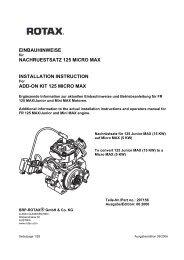 Bedienungsanleitung MiniMax - Nees Racing Kart Team