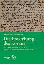 Leseprobe zum Titel: Die Entstehung des Korans - Die Onleihe
