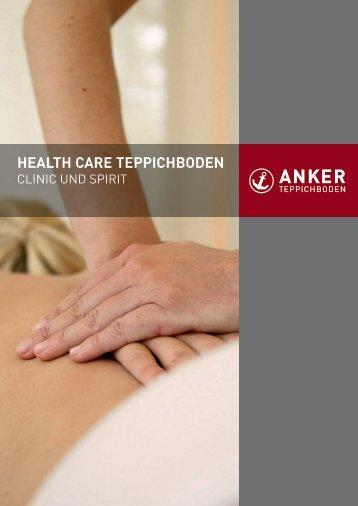 HealtH care teppicHboden - Anker Teppichboden