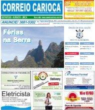 edição #108 - fev 2013 Férias na Serra - Correio Carioca