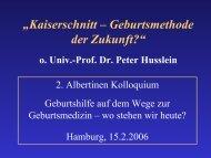 Präsentation (pdf, 1,7 MB) - Albertinen-Kolloquium