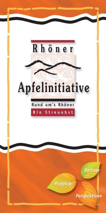 APFELBÖRSE 2013-10 als Heft -... - Rhöner Apfelinitiative e.V.