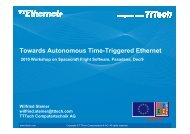 Towards Autonomous Time-Triggered Ethernet - The Workshops on ...