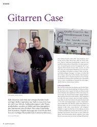 Gitarren Case - MUSIC STORE professional