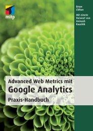 Google Analytics - Verlagsgruppe Hüthig Jehle Rehm GmbH