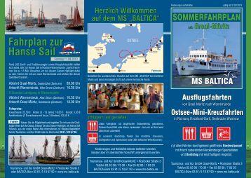Fahrplan Warnemünde gesamt als PDF zum Download - MS Baltica