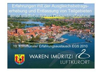 Gunter Lüdde, (Stadt Waren / Müritz)