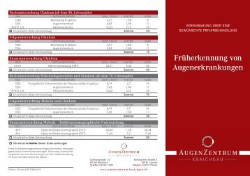 Infoblatt - AugenZentrum Kraichgau