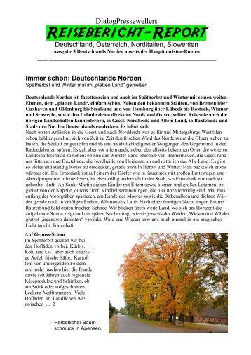 Presseweller: Herbst in Norddeutschland