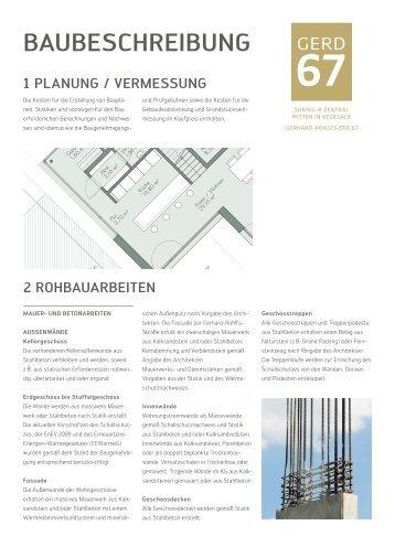 BAUBESCHREIBUNG - Nord-Bau GmbH & Co. KG