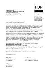 Einladung, Anfahrtsskizze und Anmeldeformular ... - FDP Homburg
