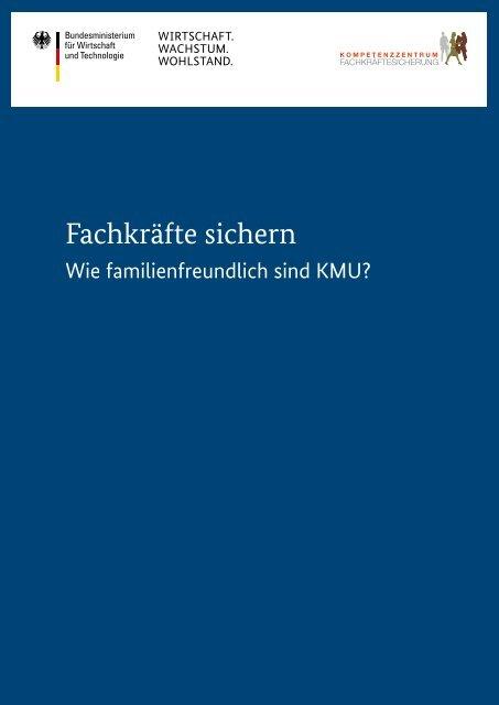 Unternehmensmonitor Familienfreundlichkeit - Kompetenzzentrum ...