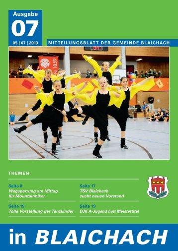 Juli 2013 - Gemeinde Blaichach