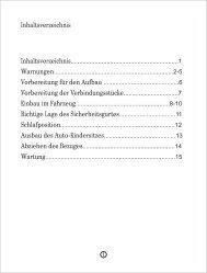 instrukcja wersja niemieckojezyczna - Coto Baby