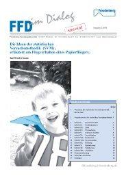 im Dialog - Freudenberg Forschungsdienste SE & Co. KG