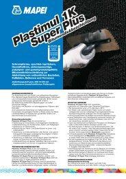 Plastimul 1K Super Plus - Mapei