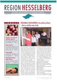 Nachrichten und Informationen aus der Region Hesselberg