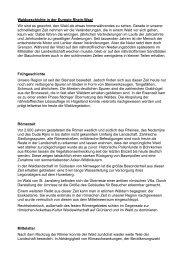 Waldgeschichte in der Euregio Rhein-Waal Wir sind es gewohnt ...