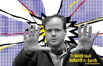 Whedon Editorial - Get a Free Blog