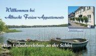 Willkommen bei Albrecht Ferien-Appartements