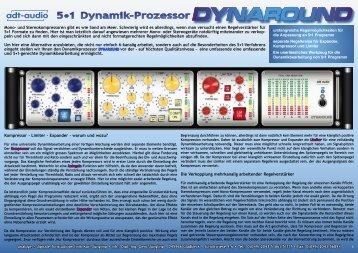 DYNAROUND 5•1 Dynamik-Prozessor - adt-audio