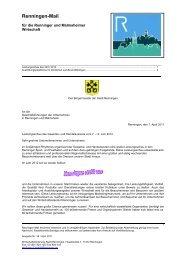 35. Renningen-Mail - Stadt Renningen