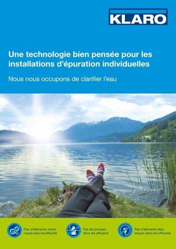 Une technologie bien pensée pour les installations ... - KLARO GmbH
