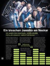 Ein bisschen Jamaika am Neckar - yardstyle sound