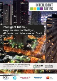 Exposé Studie Intelligent Cities - M.O.O.CON