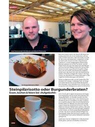 Gastro - Redaktioneller Teil - Januar 2010