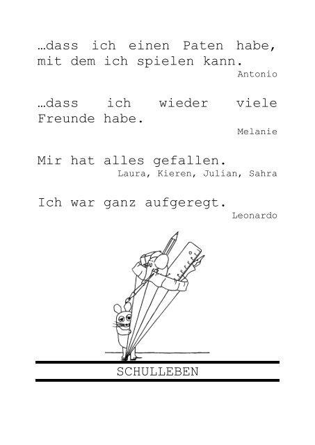 Die neuen Erstklässler - Ebelfeldschule