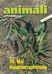 2011 Frühling [pdf] - Pro Animali