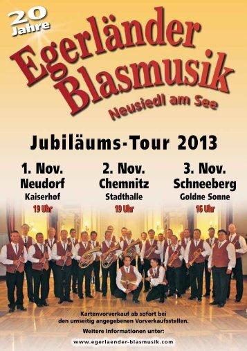 19 Uhr 19 Uhr 16 Uhr - Egerländer Blasmusik Neusiedl am See