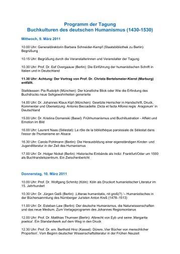Programm der Tagung - Fachbereich Philosophie und ...